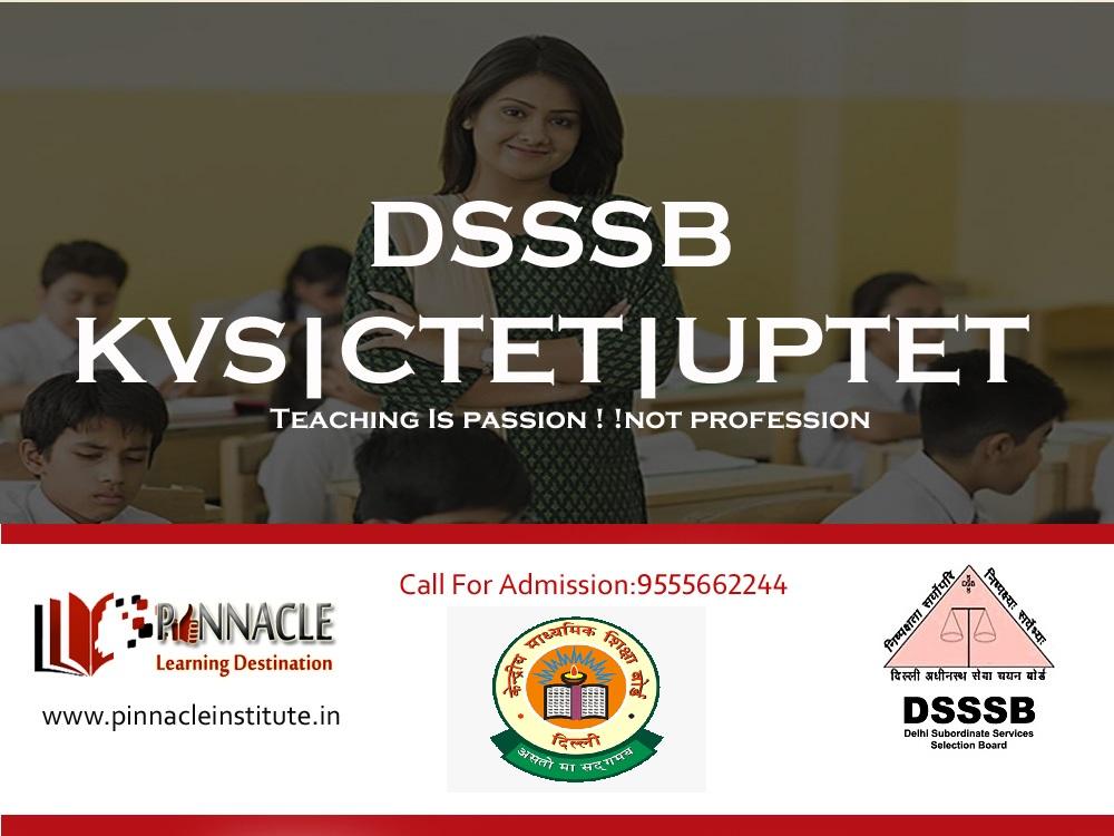 CTET|DSSSB|KVS |UPTET